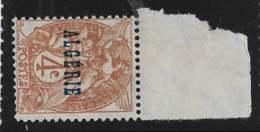 Yvert 5 Maury 5 - 4 C Brun Type Blanc Type I - Haut De Feuille - (*) - Algérie (1924-1962)