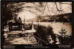 CPA AK Koblenz- Partie Aus Den Rheinanlagen GERMANY (904041) - Koblenz