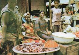 Ghana - Market Scene (beaux Timbres) - Ghana - Gold Coast
