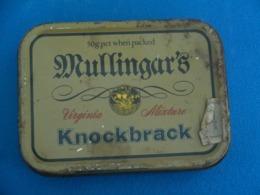 Ancienne Boite Vide Mullingar's - Empty Tobacco Boxes