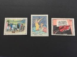 France 1965 Tableaux 1457-1459 Neuf - France