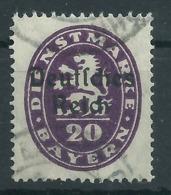 Deutsches Reich Dienst 37 Gest., Geprüft Infla - Officials