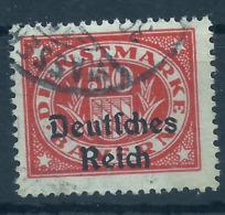 Deutsches Reich Dienst 40 Gest., Geprüft Infla - Officials