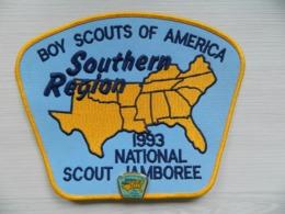 Ecusson Insigne Avec Pin's Scoutisme - Boy Scouts Of America Southern Région 1993 National Scout Jamboree - BADEN POWELL - Scoutisme