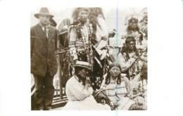 Carte Photo D'indiens D'Amérique - Wharton James Photo (non Original) - American Natives - Indiens De L'Amerique Du Nord