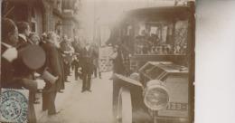 CLERMONT FERRAND    CARTE PHOTO  7 JUIN 1907  FETES PRESIDENTIELLES - Clermont Ferrand