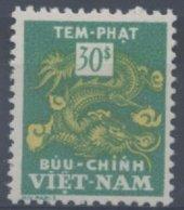 Viet Nam : Taxe N° 12 X Neuf Avec Trace De Charnière Année 1955 - Vietnam