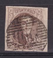 N° 10 A Margé Voisin BDF : 106 SAINT TROND  Coba +8.00 - 1858-1862 Medaillen (9/12)
