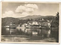 W5415 Luino (Varese) - Lago Maggiore - Panorama Con L'imbarcadero - Barche Boats Bateaux / Non Viaggiata - Luino