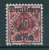 Deutsches Reich Dienst 53 Gest., Geprüft Infla - Officials