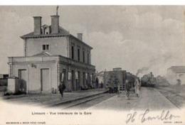 LIMOURS - Vue Intérieure De La Gare - Limours