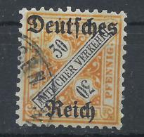 Deutsches Reich Dienst 61 Gest., Geprüft Infla - Officials