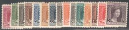 Luxemburg Yvert/Prifix Caritas 95/109 Sans Charnière Gomme Normal Pour Cette Serie! Cote EUR 75 (numéro Du Lot 500KL) - Unused Stamps