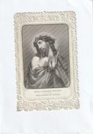 Image Religieuse - Canivet Fin XIX - Jésus Couronné D'épines, Jésus Coronado Espinas - Scan R/V - Imágenes Religiosas