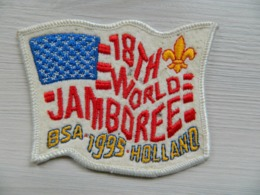 Ecusson Insigne - Scout - Scoutisme - Boy Scouts - 18 Th World Jamboree BSA 1995 Holland - BADEN POWELL - Scoutisme