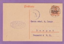 BUCHHANDLUNG,REVAL (TALLINN,ESTLAND). - Besetzungen 1914-18