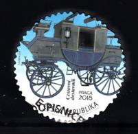Tsjechie, Ceska, 2018 Mi Nr 973 , Persoonlijke Zegel Postkoets, Stage Coach, Uit Museum - Usati