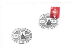 BRD.Mi:848 K Stempel. 7150 Backnang 1. 50 Jahre Briefmarken - Sammlerverein Backnang, BAPOSTA85. 2.11.1985 - Machine Stamps (ATM)