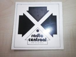 Autocollant Ancien RADIO CENTRAAL - Sammelbilder, Sticker