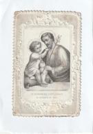 Image Religieuse - Canivet Fin XIX - Le Patriarche Saint-Joseph - El Patriarca Sn José - Scan R/V - Devotion Images