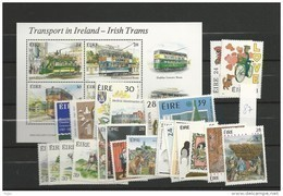 1987 MNH Ireland, Eire, Irland Year Collection, Postfris - Irlanda