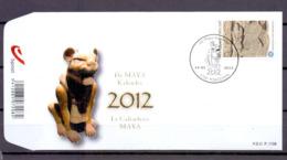 4194 MAYA KALENDER FDC 2012 - FDC