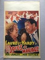 """Laurel Et Hardy """"les Joies Du Mariages """" 1933 - Manifesti & Poster"""