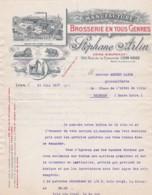 38488Manufacture De Brosserie En Tous Genres STEPHANE ARLIN Devis + Timbre Fiscal 21-06-1917 - Frankrijk