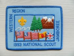 Ecusson Insigne - Scout - Scoutisme - Boy Scouts - Western Region 1993 National Scout Jamboree - BADEN POWELL - Scoutisme