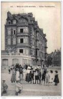 Carte Postale 59. Malo-les-bains  Dunkerque Villa Faidherbe  Trés Beau Plan - Malo Les Bains