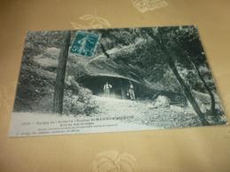 Carte Postale Ardèche Saint Marcel D'Ardèche Entrée Des Grottes - Francia
