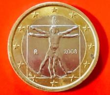 ITALIA - 2008 - Moneta - Leonardo Da Vinci, Proporzioni Ideali Del Corpo Umano - Euro - 1.00 - Italia