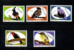 ETHIOPIA, 2018, BIRDS, 5v. MNH** NEW!! - Uccelli