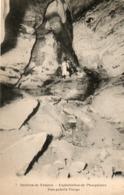34. CPA. FAUZAN. Grottes De Fauzan, Exploitation De Phosphates, Une Galerie Vierge. - Andere Gemeenten