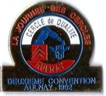 CITROEN - C40 - LA JOURNEE DES CERCLES - AULNAY - DEUXIEME CONVENTION - Verso : A.B. - Citroën