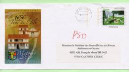"""PAP - GUYANE MATOURY  """"350 ANS D'HISTOIRE"""" - 2007 - Prêts-à-poster: Repiquages Privés"""