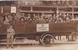 3728191Berlin Mitte Wallroths Auto-Fahrt Rundfahrten Omnibus AK (gestempelt 1922) (sehr Kleines Falte Im Ecken) - Mitte