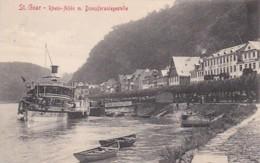 3728193St. Goar, Rhein Allée M. Dampferanlegstelle Coln-Dusseldorfer Mit Hotel Rheinfels. - St. Goar