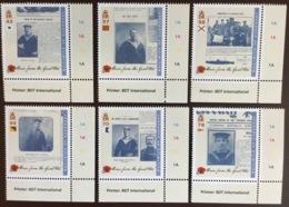 Guernsey 2016 World War I Stories MNH - Guernsey