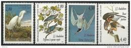 """FR YT 2929 à 2932 """" Les Oiseaux De J.J. Audubon """" 1995 Neuf** - France"""