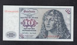 Banknote Deutsche Bundesbank 1970 / 10 DM - [ 7] 1949-… : FRG - Fed. Rep. Of Germany