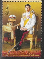 THAILAND, 2019, MNH, ROYALS, KING RAMA X  67th BIRTHDAY,1v - Familias Reales