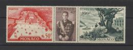 MONACO.  YT  N° 450/452  Neuf **  1956 - Monaco