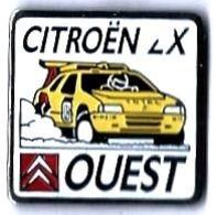 CITROEN - C43 - CITROEN ZX - OUEST - Verso : SM - Citroën