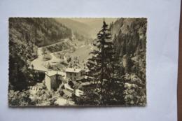 """Route De MOREZ Aux ROUSSES-la Doye-au Dos Cachet""""colonie De Vacances-La Savinienne-Premanon(jura) - Morez"""