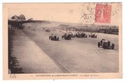 AUTODROME DE LINAS MONTLHERY - Un Départ De Course (carte Animée) - Motorsport