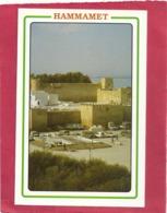 CPM. HAMMAMET . LES REMPARTS  . CARTE NON ECRITE - Tunesien