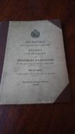 IRAN POSTES POST LOI POSTALE TEHERAN 1916 101 PAGES /FREE SHIPPING REGISTERED - Irán