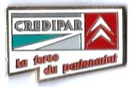 CITROEN - C45 - CREDIPAR - LA FORCE DU PARTENARIAT - Verso : SM - Citroën
