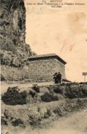 06. CPA. MENTON.  Caves Du Musée Préhistorique à La Frontière Italienne. - Menton
